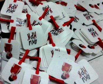 Kipas Plastik Promosi KPK
