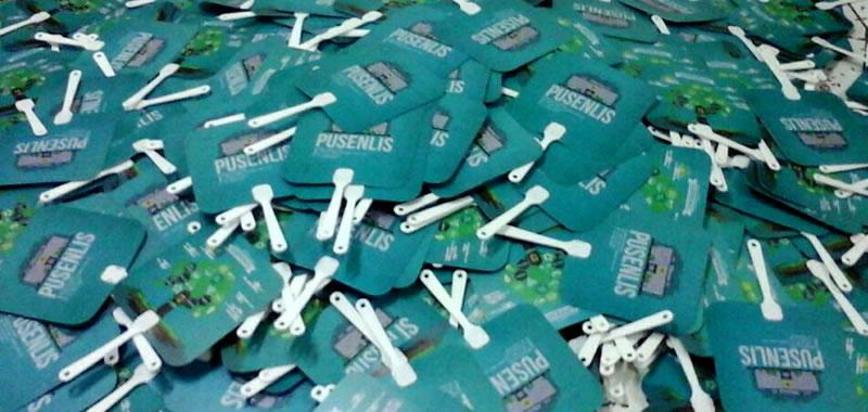 Kipas Plastik Promosi PLN