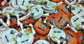 Kipas Plastik Promosi Tiket Kereta Api Apps