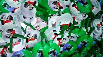 Kipas Plastik Promosi Bank Sumsel