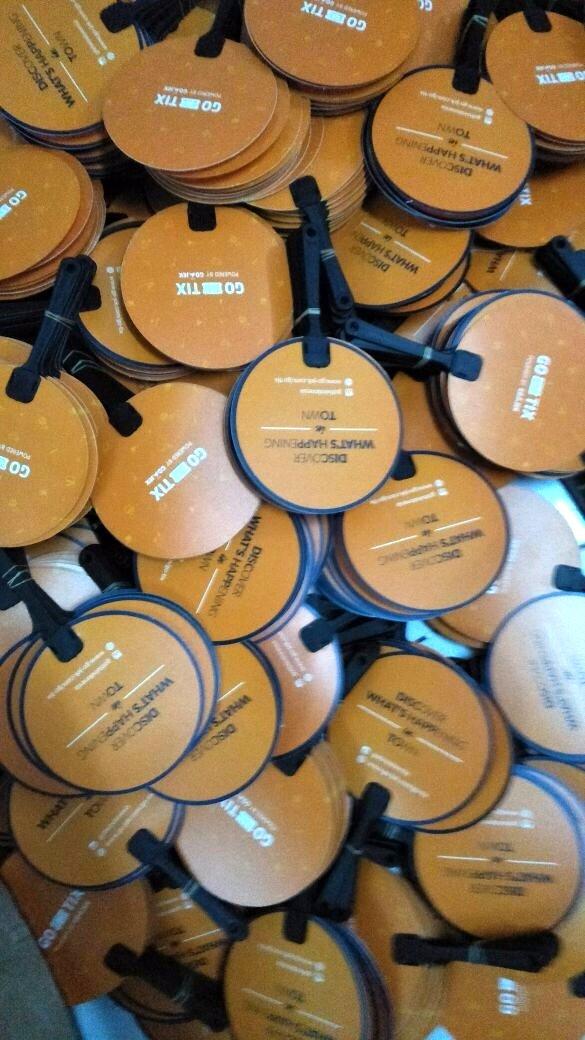 Kipas Plastik Promosi Gojek - GoTik
