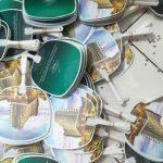 Kipas Promosi Bahan Plastik PVC The Palace Yogyakarta