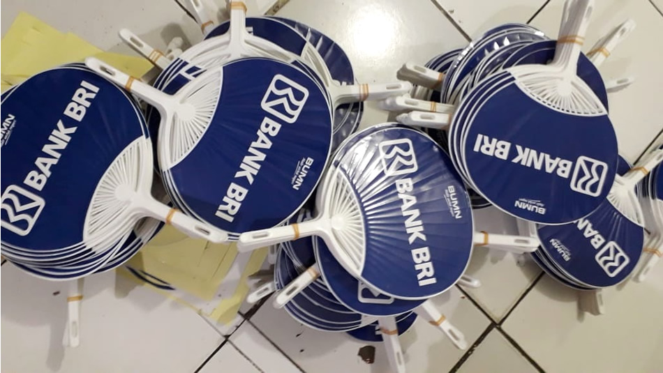 Repeat Order Kipas Uchiwa Bank BRI