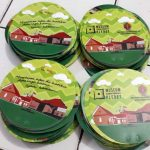 Cetak Kipas Promosi Bahan Plasik PVC Museum Pleret